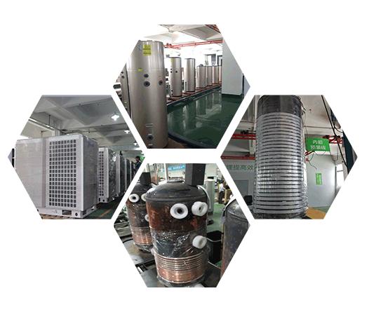空气能热泵自动化专业生产线