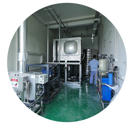 爱尼空气能热泵国家级工况实验室,-35℃的环境工况覆盖全球90%以上的人居区域,拥有国标、北美、欧州标准的测试能力