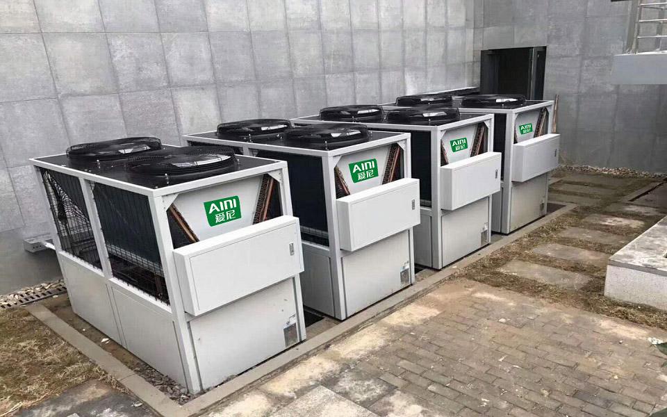 空气能商用热泵工程