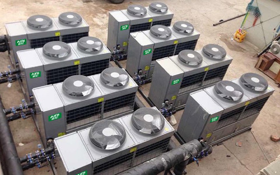 超低温热泵机组_空气源商用冷暖热泵空调