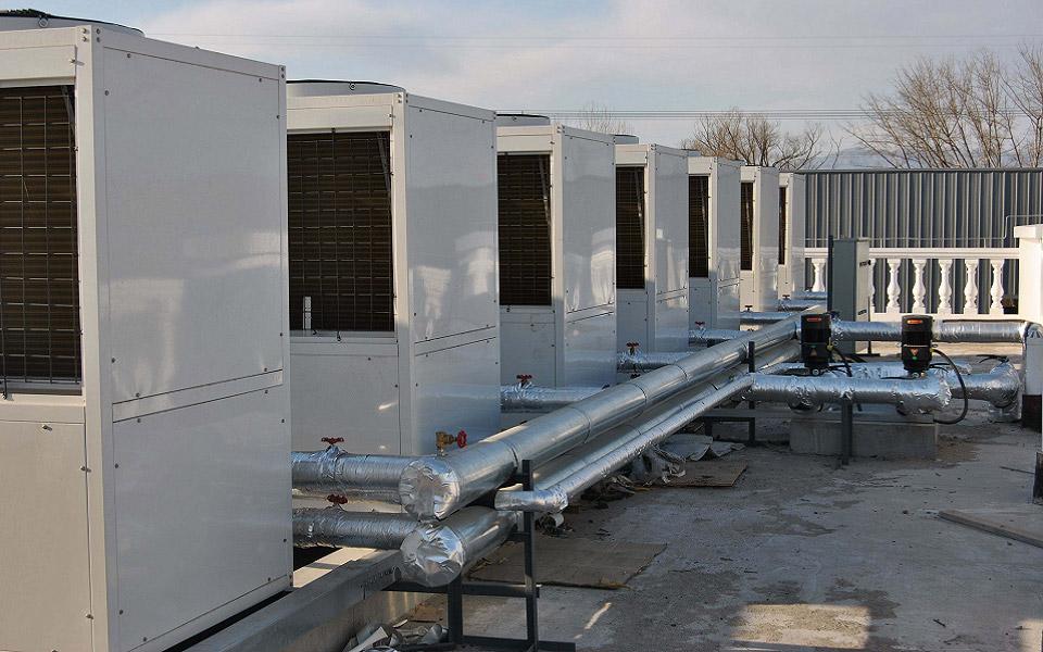 超低温空气能热泵机组_空气能热泵空调系统工程