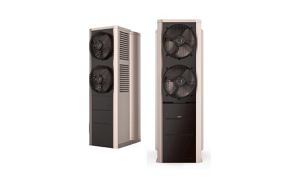 爱尼空气能热水器款式新颖,专门针对舒适家居开发。