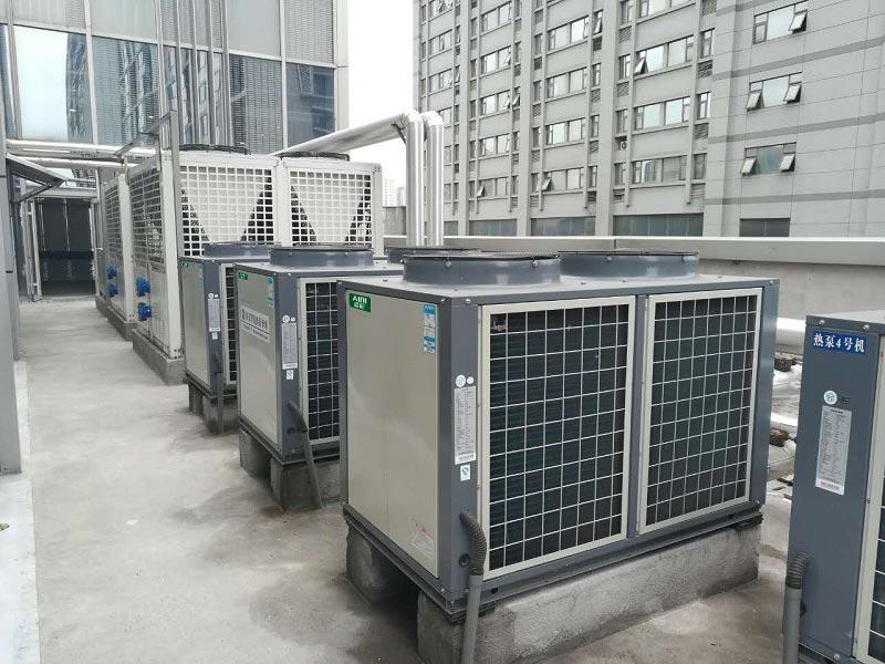 广西南宁学校空气能热泵热水工程
