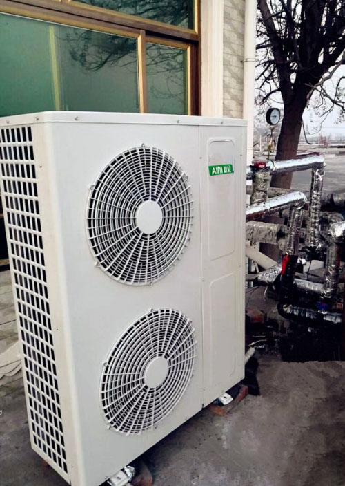 张家口市前屯村空气能热泵机组采暖项目
